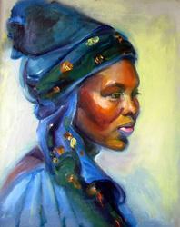 Woman in Turbin
