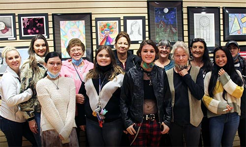 SLAL High School Student Art Show